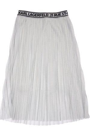 Karl Lagerfeld Pleated Long Skirt