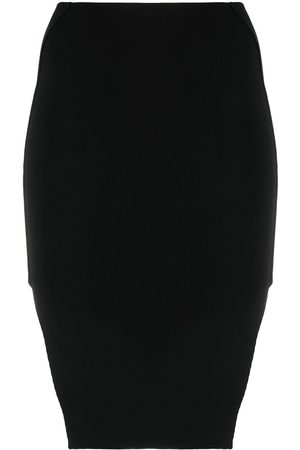 Rick Owens Side-slit pencil skirt