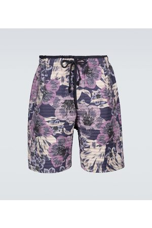 Isabel Marant Helani floral quilted shorts