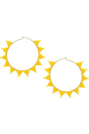 Mishky And Gold Shooting Star Earrings