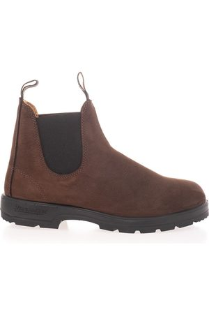 Blundstone MEN'S 1606BROWNM SUEDE ANKLE BOOTS