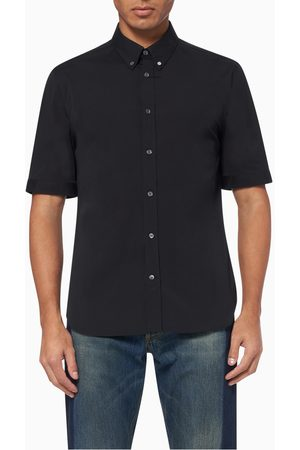 Alexander McQueen Short-Sleeved Organic Cotton Shirt