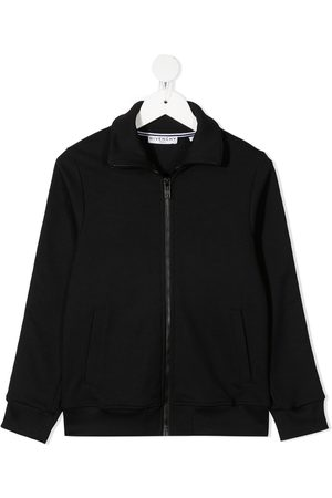 Givenchy Long-sleeved cotton sweat jacket
