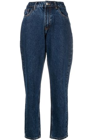 12 STOREEZ High-waisted relaxed jeans