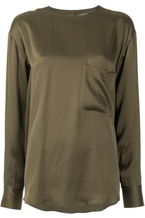 Equipment Jeunelle long-sleeve blouse