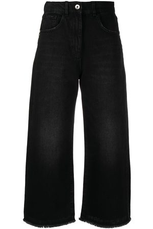 Patrizia Pepe Lightly distressed cropped jeans