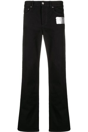 Givenchy Logo-patch straight-leg jeans