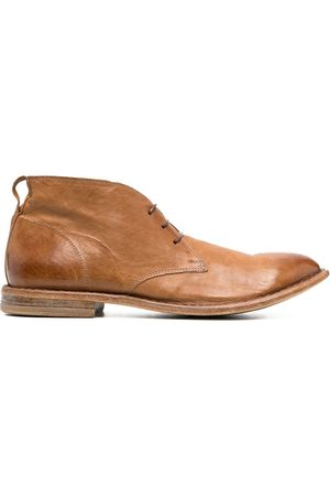 Moma Leather desert boots