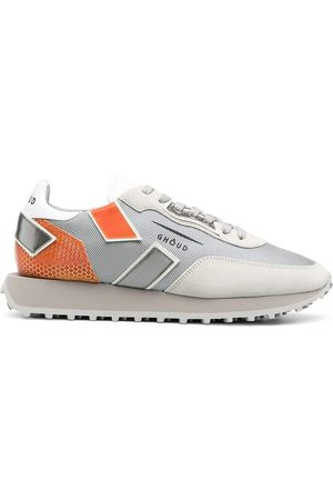 Ghoud Men Sneakers - Colour-block lace-up trainers