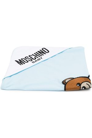 Moschino Baby Baby Changing Bags - Embroidered Teddy blanket