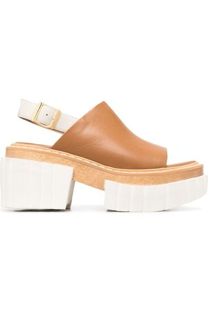 Stella McCartney Open toe platform sandals
