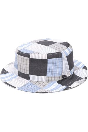Thom Browne Men Hats - Patchwork bucket hat