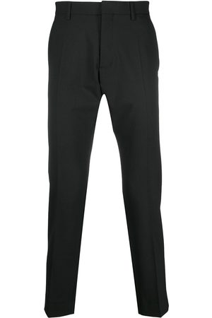 Dsquared2 Mid-rise cropped tailored trousers