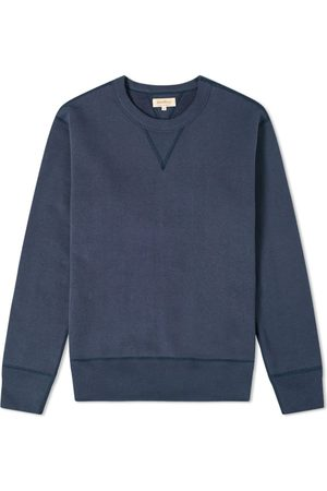 The Real McCoys Men Accessories - The Real McCoy's 10oz Loopwheel Crew Sweat