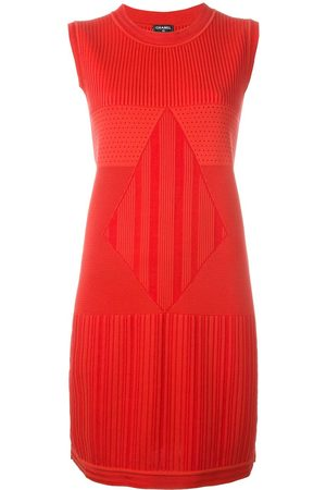 Chanel Pre-Owned Sleeveless knit dress