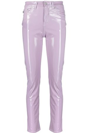 Fiorucci Yves mid-rise glossy trousers