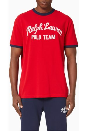 Polo Ralph Lauren Polo Team Cotton Mesh T-shirt
