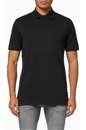 Selected Organic Cotton Pique Polo Shirt