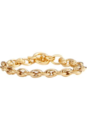 Tilly Sveaas Double Link 18kt -plated chain bracelet