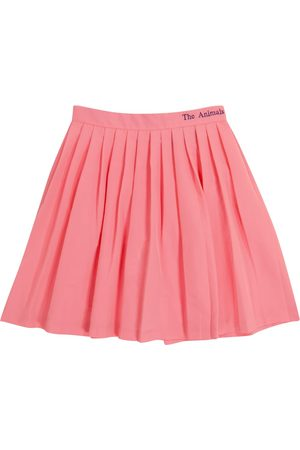 The Animals Observatory Women Pleated Skirts - Cat pleated skirt