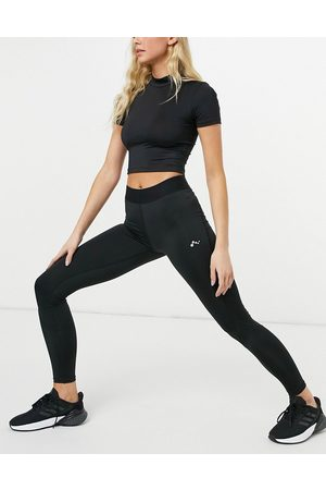 Only Play Training leggings with waistband detail in