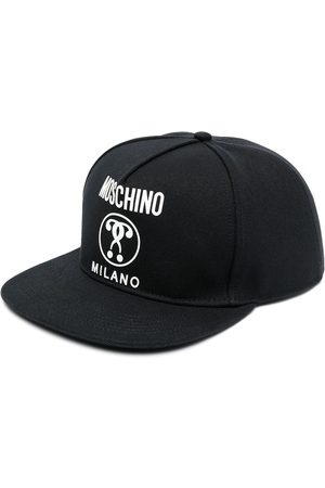 Moschino Logo-print six-panel cap