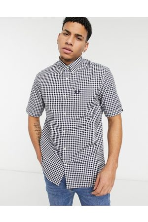 Fred Perry Gingham short sleeve shirt in