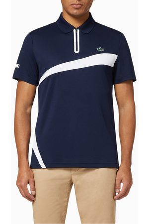 Lacoste Sport Breathable Piqué Tennis Polo