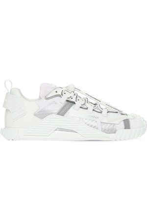Dolce & Gabbana Ns1 Mesh & Suede Sneakers