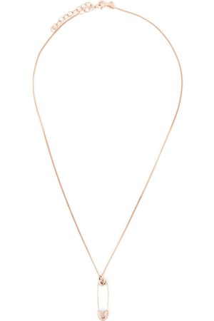True Rocks Necklaces - Small safety pin necklace