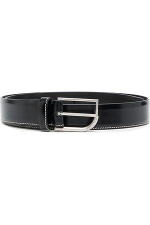Maison Margiela Men Belts - Contrast-stitch buckle-fastening belt