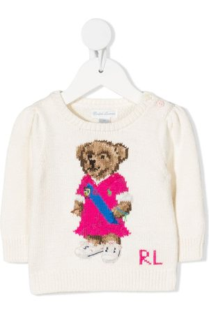 Ralph Lauren Jumpers - Logo bear print jumper