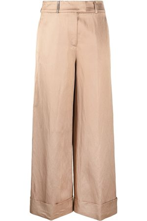 PESERICO SIGN Wide-leg trousers