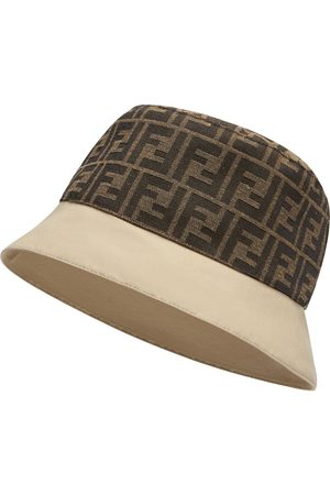 Fendi FF motif bucket hat