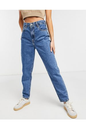 Levis Levi's high loose tapered jean in midwash