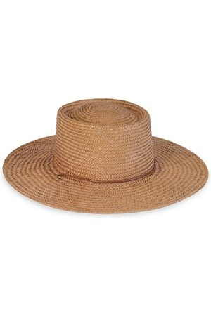 Lack of Color Hats - Vienna Woven Wide-Brim Boater Hat