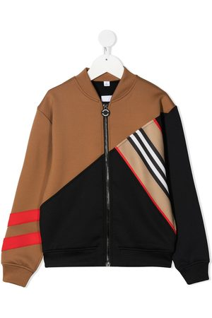 Burberry Colour-block stripe jacket