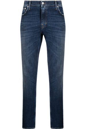 Department 5 Logo-patch cropped jeans