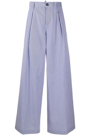 Dsquared2 High-rise wide-leg trousers