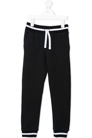 Dolce & Gabbana Logo-patch track pants