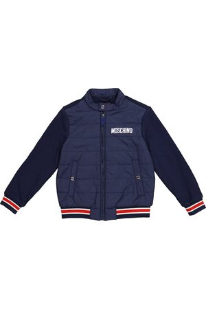 Moschino Quilted cotton jacket