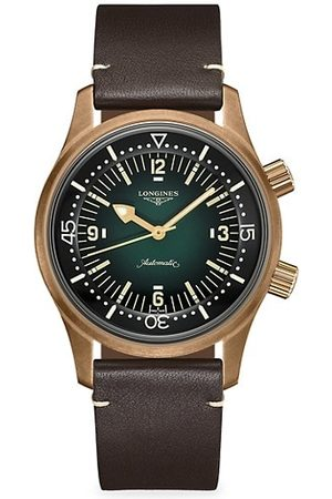 Longines The Legend Diver Rose Goldtone Stainless Steel Watch with Interchangeable Straps