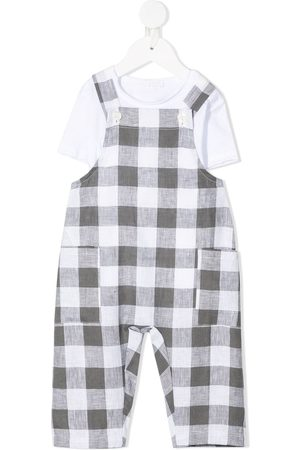 adidas Baby Rompers - Gingham check romper