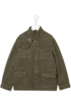 Fay Kids Flap pocket military-style jacket