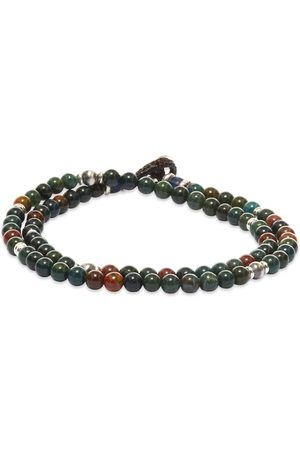 Mikia Double-Wrap Stone 4mm Bracelet