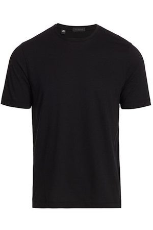 Saks Fifth Avenue COLLECTION Solid Crewneck T-Shirt