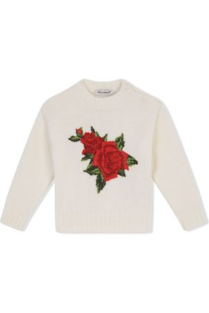 Dolce & Gabbana Cross-stitch design jumper