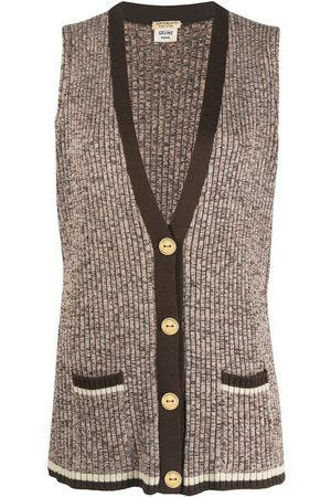 Céline Pre-owned knitted wool vest