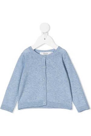 BONPOINT Cardigans - Rib-trimmed knitted cardigan