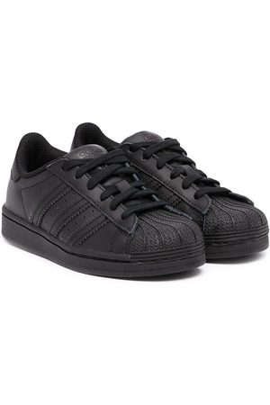 adidas Superstar low-top leather sneakers